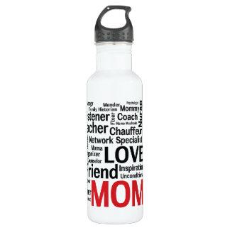 母の日のすばらしく多才なすごいお母さん ウォーターボトル