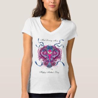母の日のほとんどの愛情のあるお母さん Tシャツ