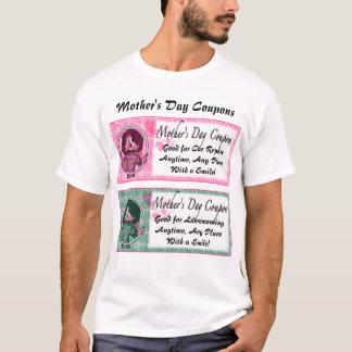 母の日のクーポン Tシャツ