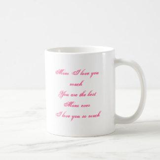 母の日のマグの俳句の詩 コーヒーマグカップ