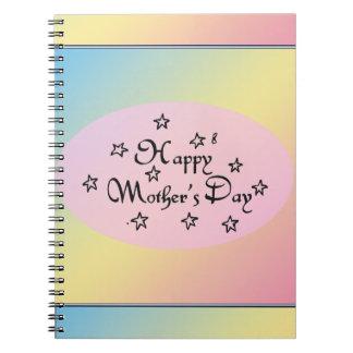 母の日の星- ノートブック