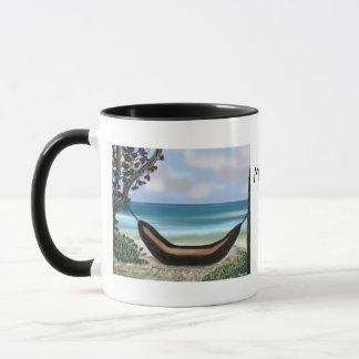 母の日の昼寝のマグ マグカップ