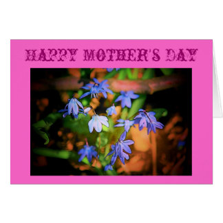母の日のBluebellsカード カード