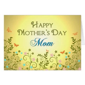 母の日-お母さん-花 グリーティングカード