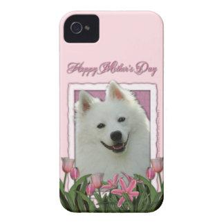 母の日-ピンクのチューリップ-アメリカのエスキモー語 Case-Mate iPhone 4 ケース