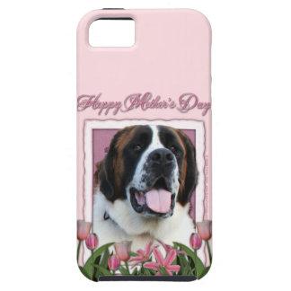 母の日-ピンクのチューリップ-サンベルナール峠- Mae iPhone SE/5/5s ケース