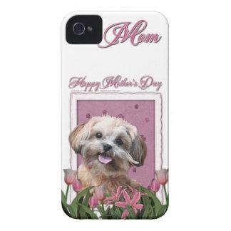 母の日-ピンクのチューリップ- ShihPoo - Maggie Case-Mate iPhone 4 ケース