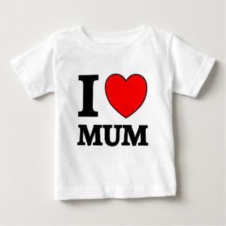母の日I愛ミイラ ベビーTシャツ