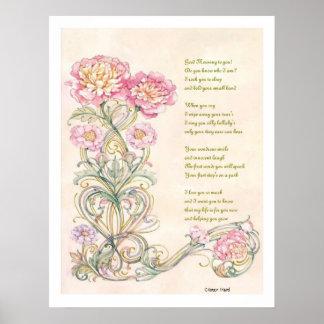 母の詩 ポスター