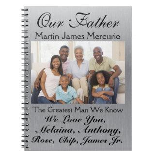 母または父の日- srfのためのノートを愛して下さい ノートブック