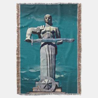 母アルメニアのブランケットのՄայրՀայաստան スローブランケット