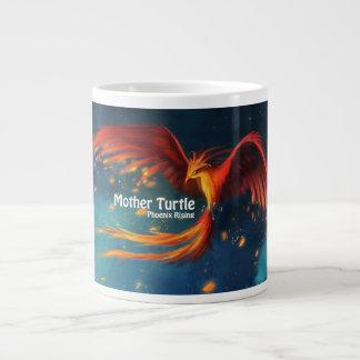 母カメのフェニックスの上昇のマグ ジャンボコーヒーマグカップ
