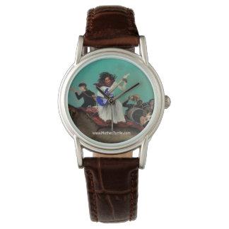 母カメの海バンド腕時計 腕時計