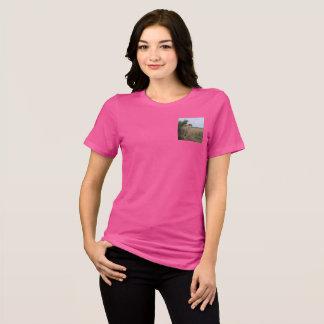 母チータおよび幼いこども Tシャツ