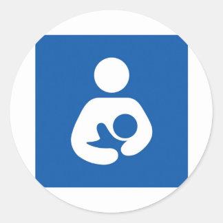 母乳で育てるサポート ラウンドシール