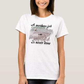 母仕事 Tシャツ