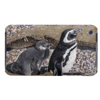 母及びベビーのペンギンのipod touchの場合 Case-Mate iPod touch ケース