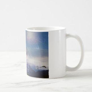 母及び子供 コーヒーマグカップ