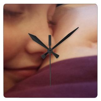 母子供愛、柱時計 クロック
