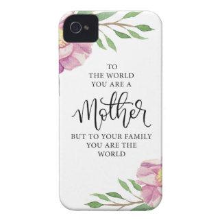 母引用文のギフト Case-Mate iPhone 4 ケース