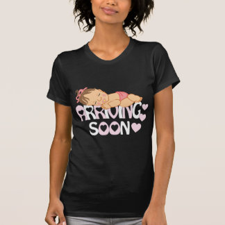 母性のためのかわいい女の赤ちゃんのワイシャツ Tシャツ