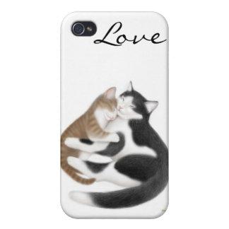 母性愛猫のSpeckの場合 iPhone 4 ケース