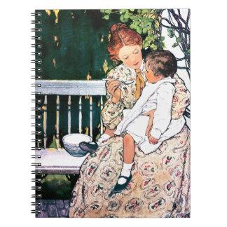母性愛。 母の日のギフトのノート ノートブック