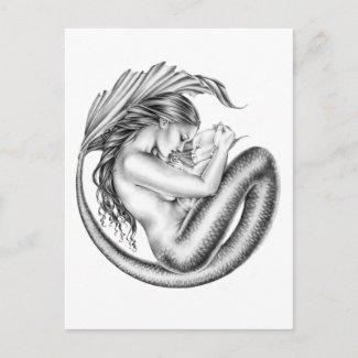 母性愛 葉書き