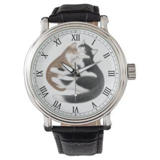 母親らしい愛猫の腕時計 腕時計