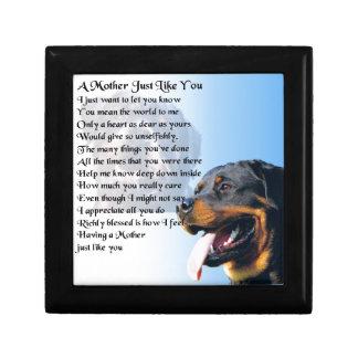 母詩-ロットワイラーのデザイン ギフトボックス