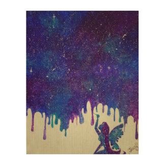 母銀河系木装飾 ウッドウォールアート