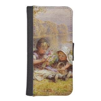 母1867年のためのPosy iPhoneSE/5/5sウォレットケース