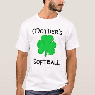 母、ソフトボール Tシャツ