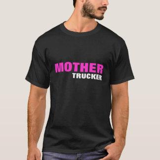 母、トラック運転手 Tシャツ