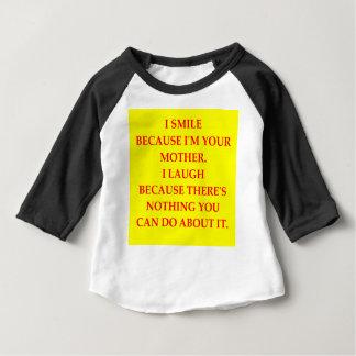 母 ベビーTシャツ