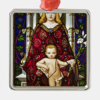 母Mary.jpg メタルオーナメント