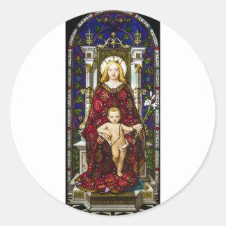母Mary.jpg ラウンドシール