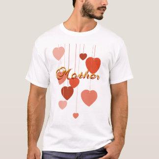 母Nハートのワイシャツ Tシャツ