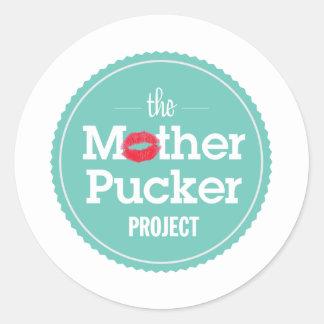 母Puckerのプロジェクト ラウンドシール
