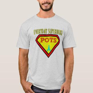 毎日のスーパーヒーローのワイシャツ Tシャツ