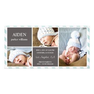 毎日のベビー%PIPE%の誕生の発表 写真カード