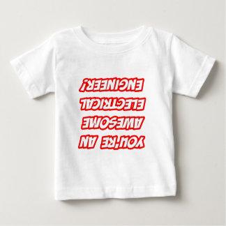 毎日のメモの…素晴らしい電気技師 ベビーTシャツ
