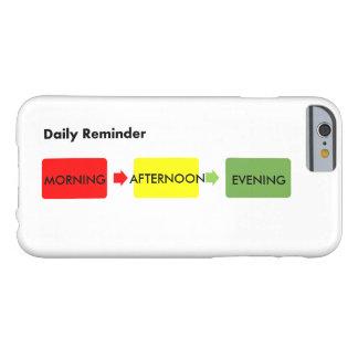 毎日のメモ BARELY THERE iPhone 6 ケース