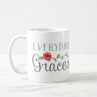 毎日の優美はマグを耕します コーヒーマグカップ