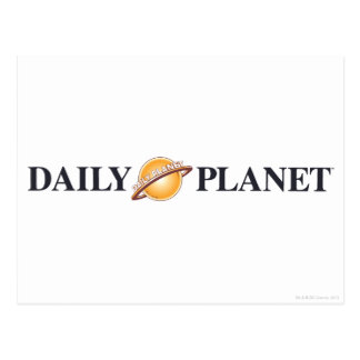 毎日の惑星のロゴ ポストカード
