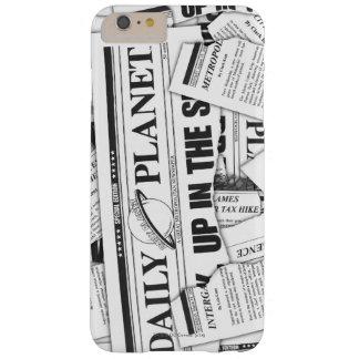 毎日の惑星パターン-白 BARELY THERE iPhone 6 PLUS ケース