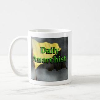 毎日の無政府主義者のコーヒー・マグ コーヒーマグカップ
