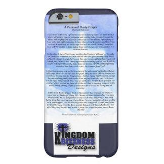 毎日の祈りの言葉の電話箱 BARELY THERE iPhone 6 ケース
