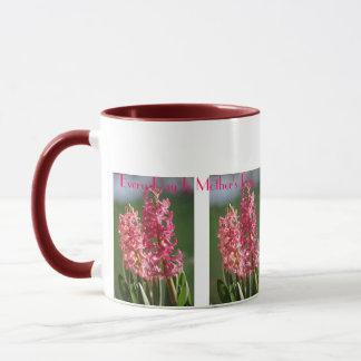 毎日は母の日、ピンクのHyacinthです マグカップ