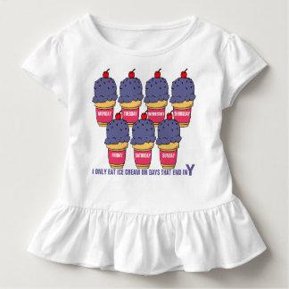 毎日アイスクリーム トドラーTシャツ